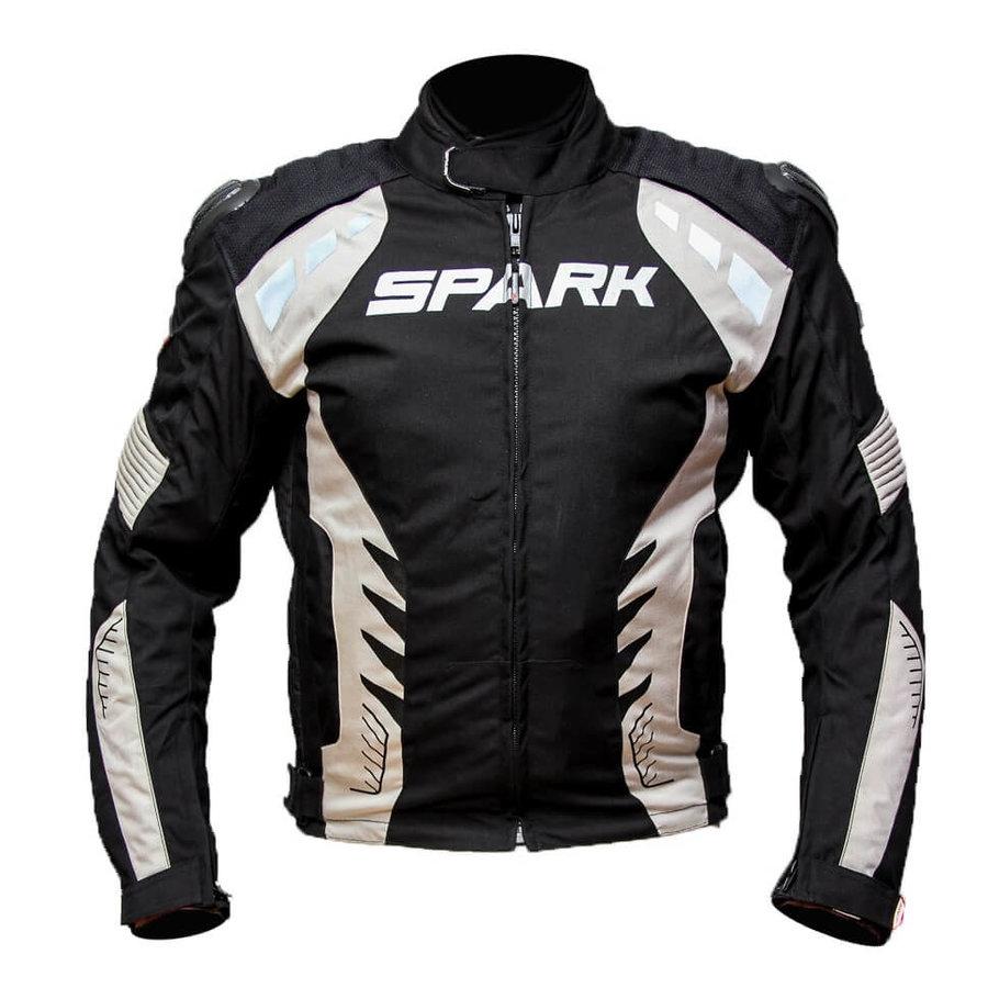 Černá pánská motorkářská bunda Hornet, Spark - velikost S