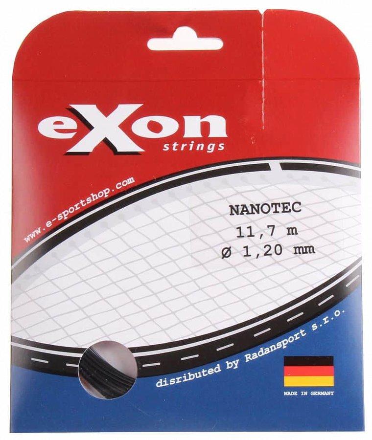 Tenisový výplet - NanoTec tenisový výplet 11,7 m barva: černá;průměr: 1,20
