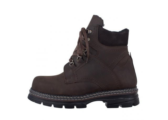Hnědé pánské zimní boty BENT