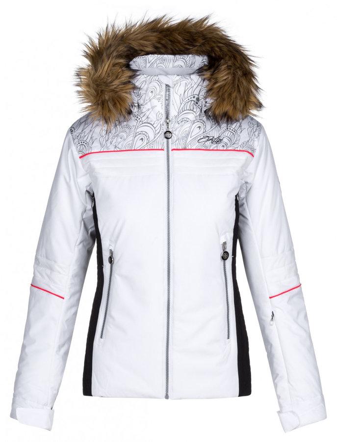 Bílá dámská lyžařská bunda Kilpi - velikost M
