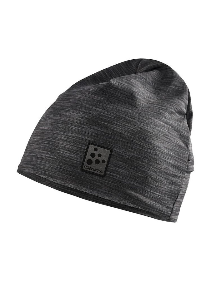 Černo-šedá dámská zimní čepice Craft