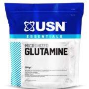 """L-Glutamin USN """"bez příchutě"""" - 500 g"""