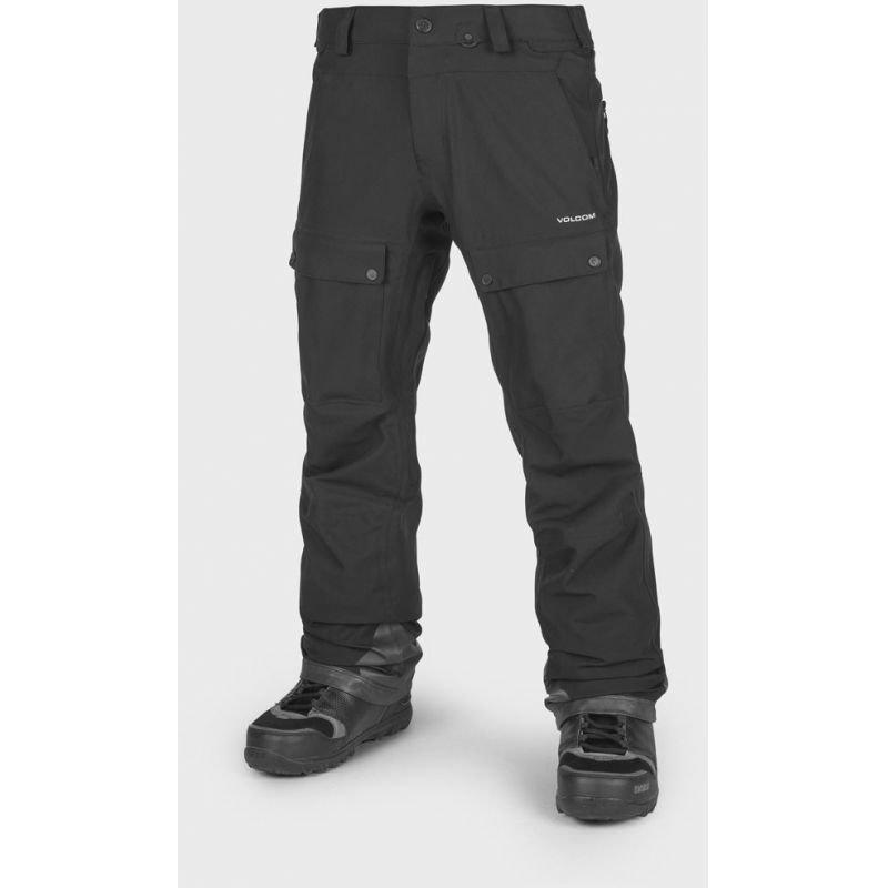 Černé pánské snowboardové kalhoty Volcom - velikost XL