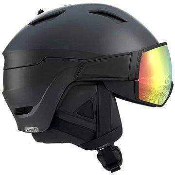 Černá lyžařská helma Salomon - velikost L a velikost 59-62 cm
