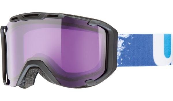 Lyžařské brýle - Uvex Snowstrike Black