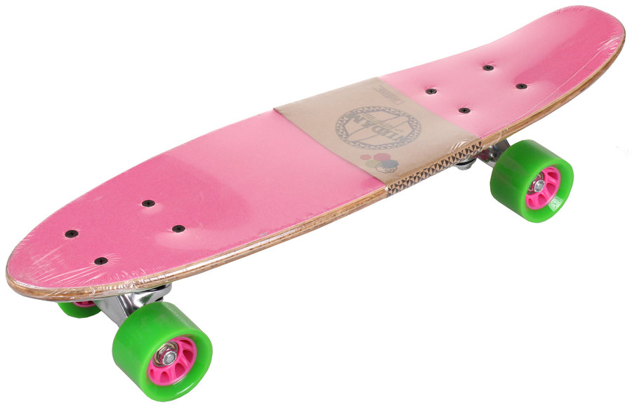 Růžový pennyboard Nijdam