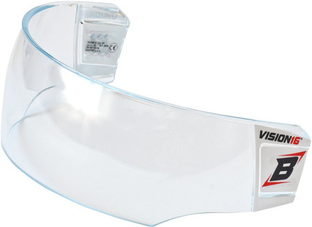 Plexi na hokejovou helmu - Plexi Bosport Vision16 Pro B1 čirá (průhledná)