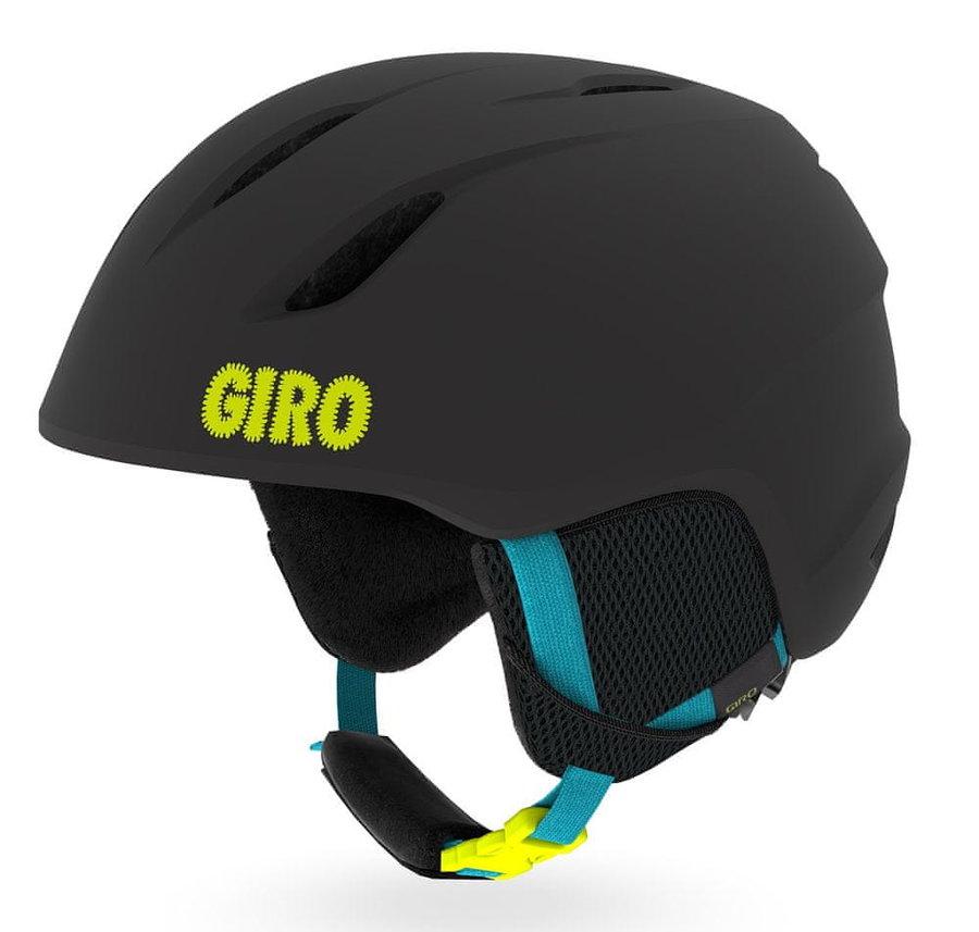 Černá dětská lyžařská helma Giro - velikost XS
