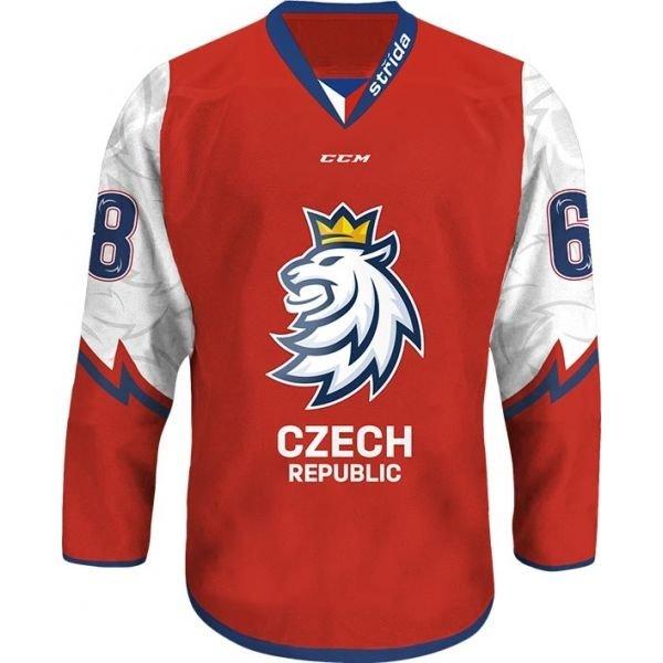 Červený hokejový dres CCM
