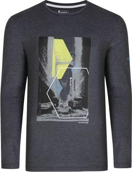 Šedé pánské tričko s dlouhým rukávem Dare 2b