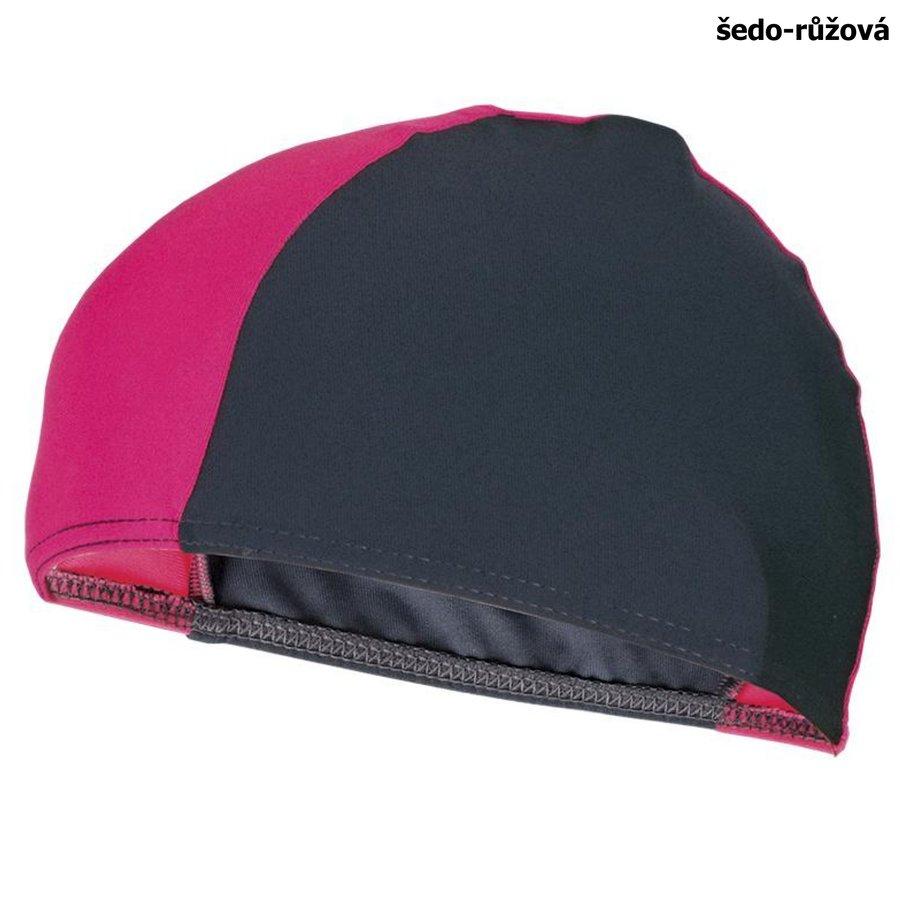 Růžová pánská nebo dámská plavecká čepice LYCRAS, Spokey