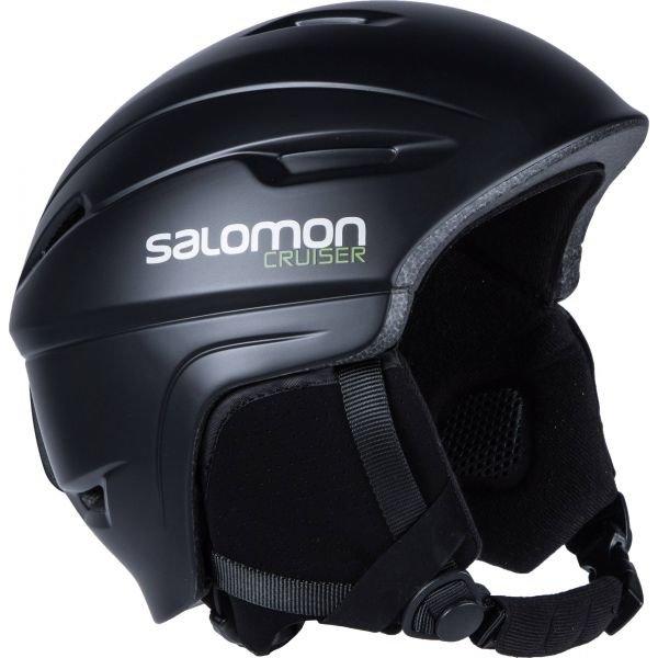 Černá lyžařská helma Salomon