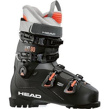 Černé dámské lyžařské boty Head - velikost vnitřní stélky 27 cm