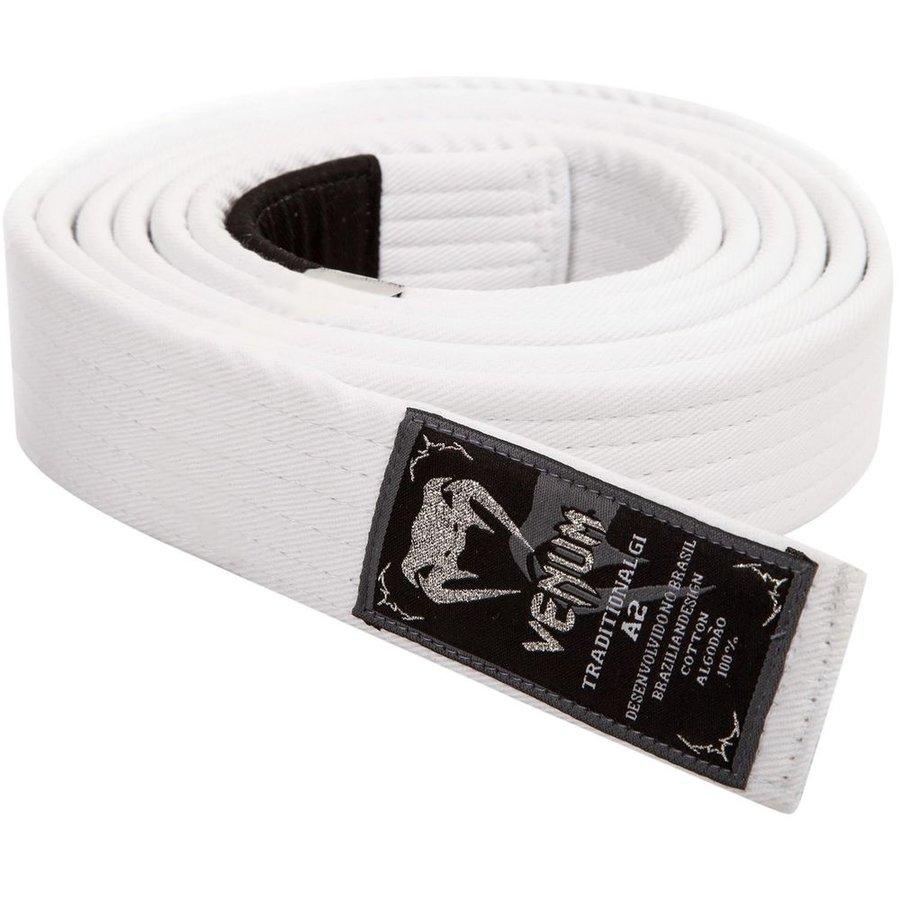 Judo pásek - Prémiový BJJ pásek Venum - bílý