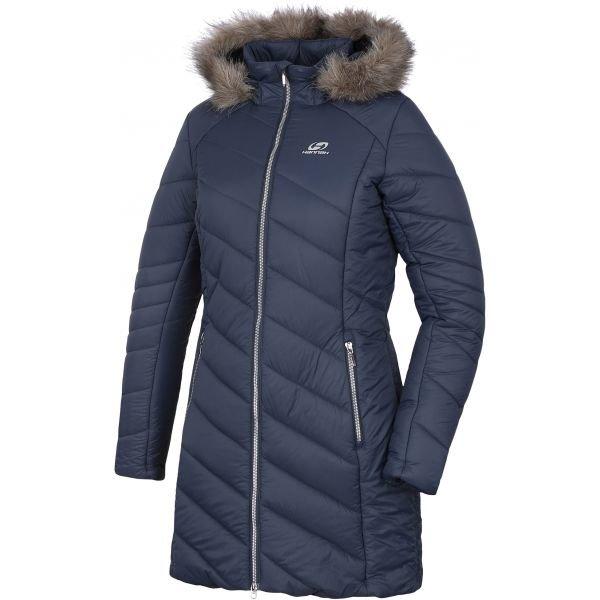 Modrý dámský kabát Hannah