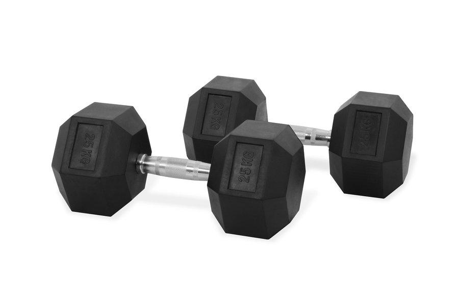 Jednoruční činka Trinfit - 25 kg