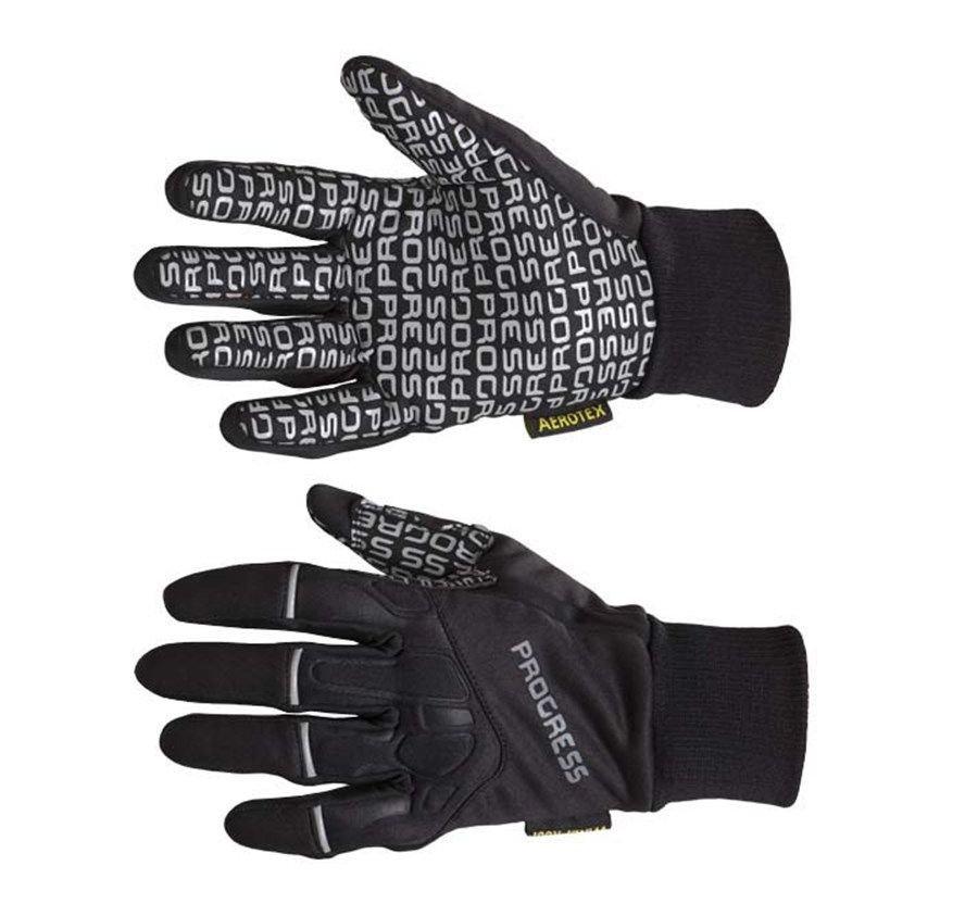 Černé dámské rukavice na běžky Progress - velikost S