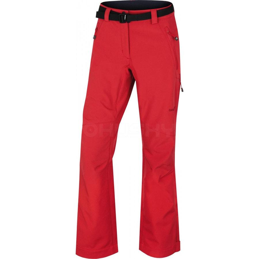 Červené dámské kalhoty Husky