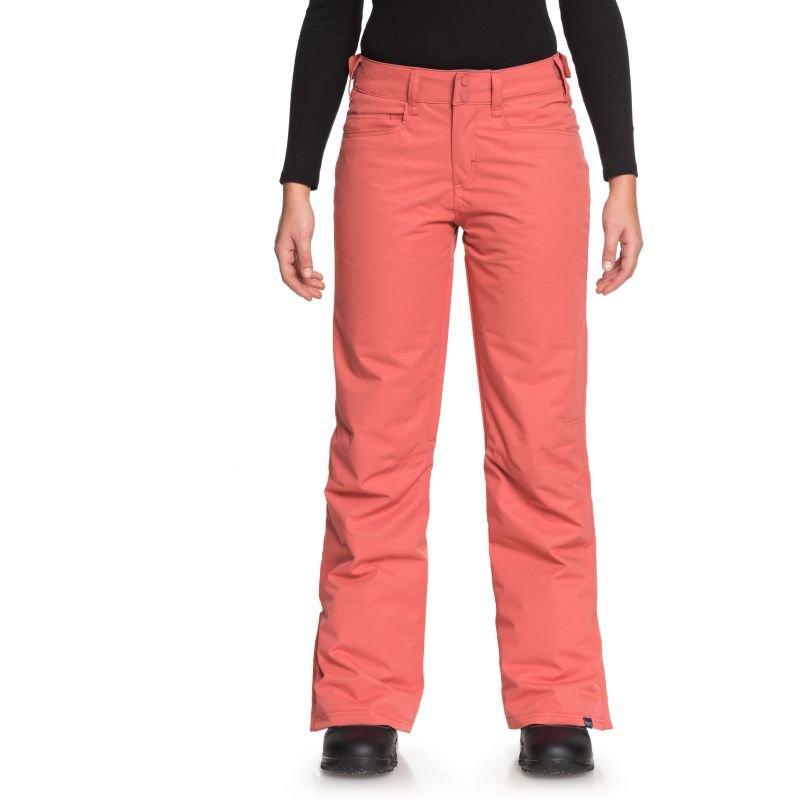 Oranžové dámské snowboardové kalhoty Roxy