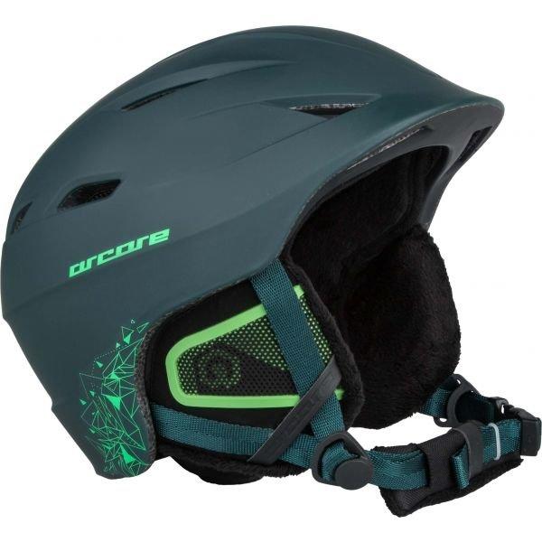 Šedá lyžařská helma Arcore - velikost 54-58 cm