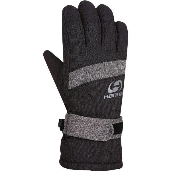 Černé dětské zimní rukavice Hannah