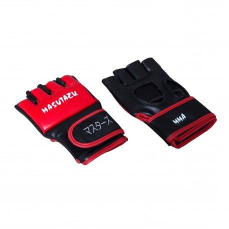 Černo-červené MMA rukavice MASUTAZU