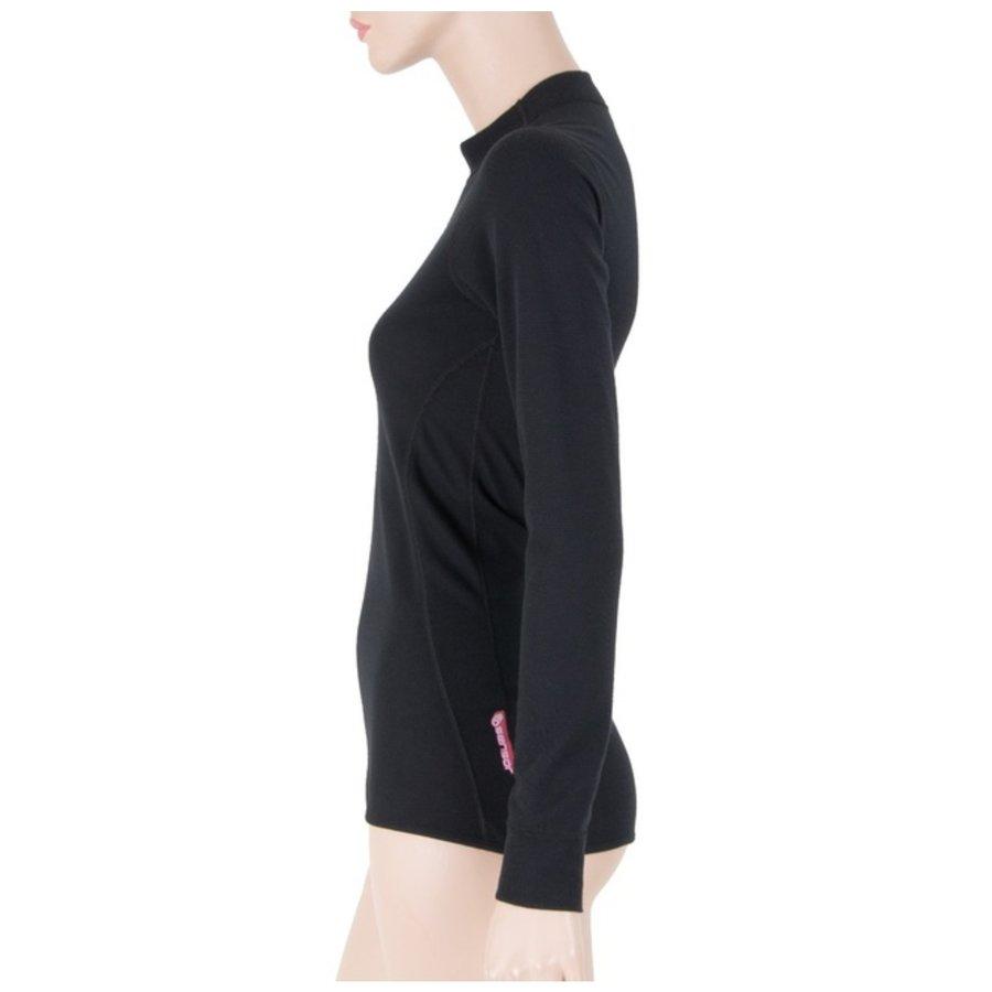 Černé dámské tričko s dlouhým rukávem Sensor - velikost L