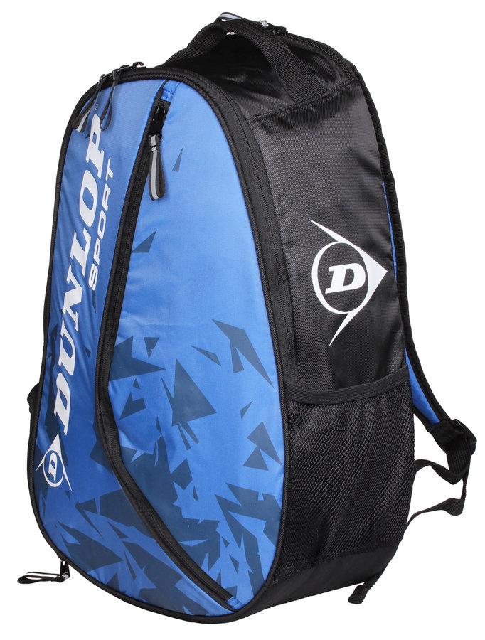Černo-modrý tenisový batoh Dunlop