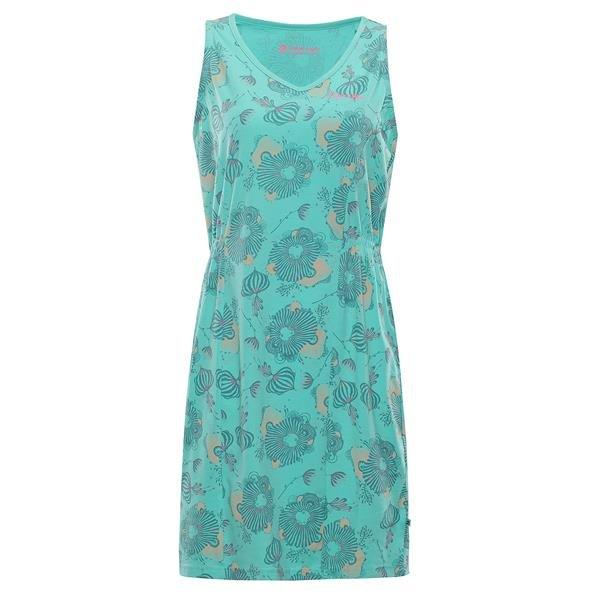 Zelené dámské šaty Alpine Pro - velikost XS