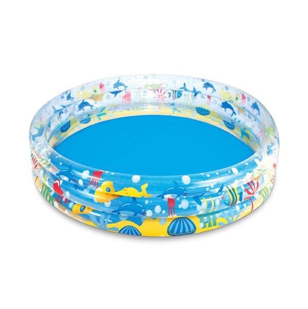 Nadzemní nafukovací kruhový bazén Bestway - průměr 183 cm a výška 33 cm