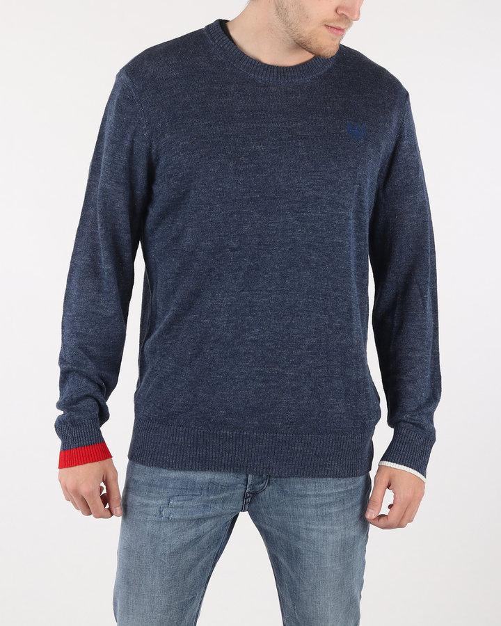 Modrý pánský svetr Diesel - velikost L