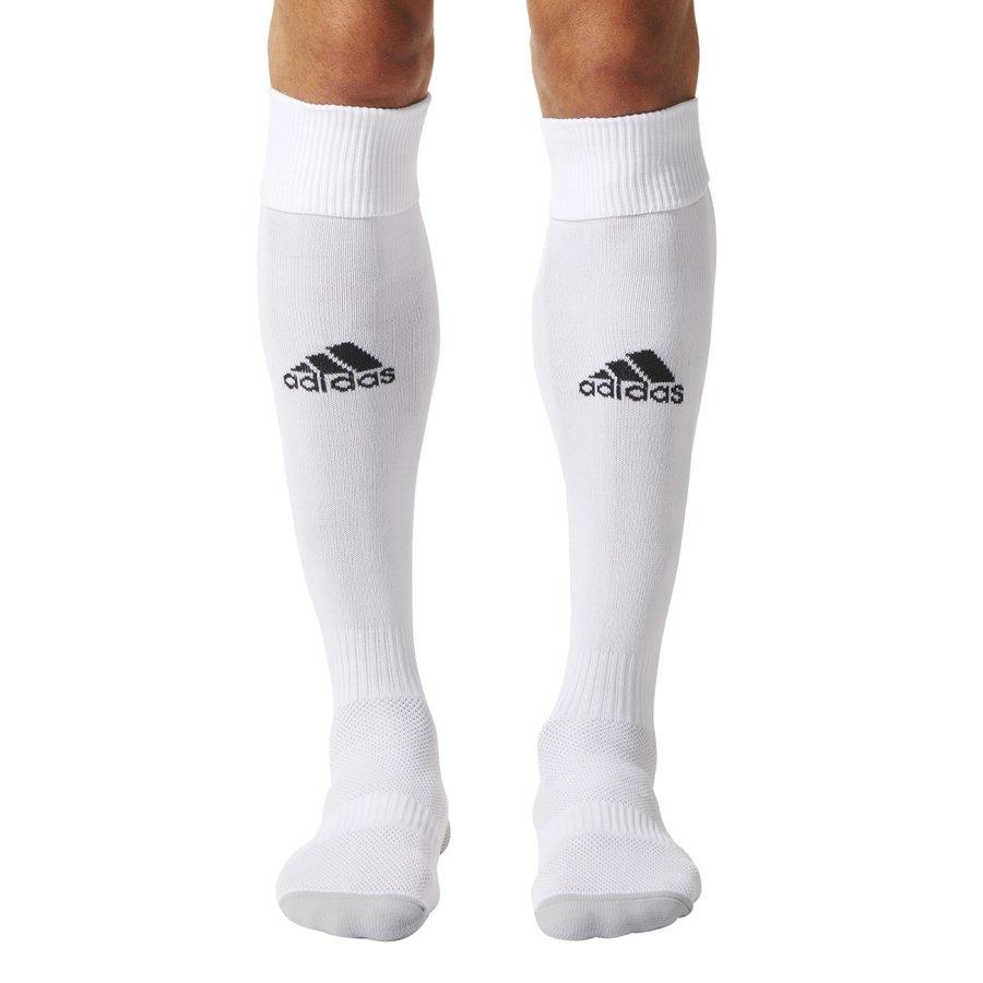 Bílé fotbalové štulpny Milano 16 Sock, Adidas - velikost 27-30 EU