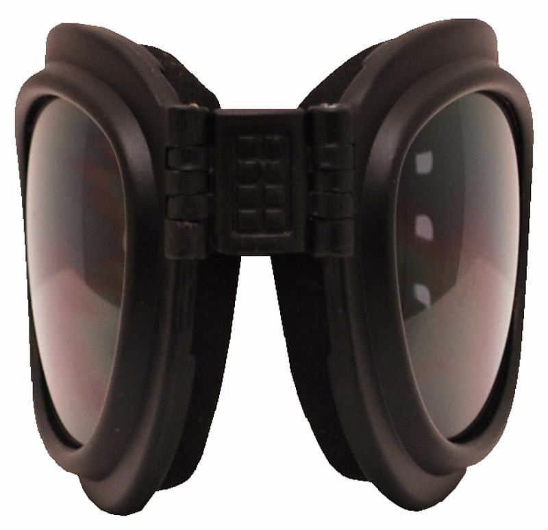 Černé běžecké brýle TT Blade Fold, Rulyt