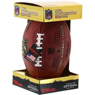 Hnědý míč na americký fotbal NFL, Wilson