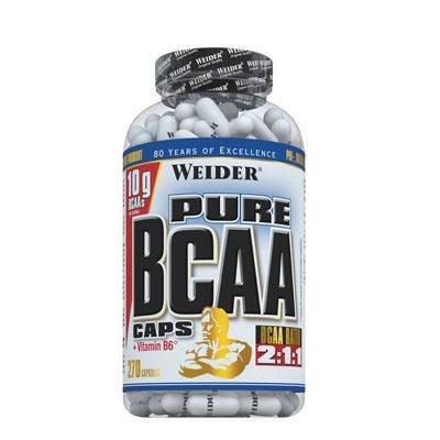 BCAA - WEIDER Pure BCAA + Vit. B6 270 tablet
