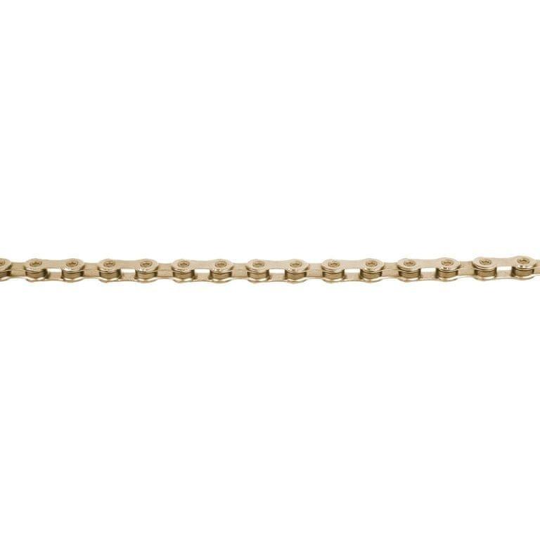 Řetěz na kolo - KMC řetěz X12 zlatý 126čl. BOX