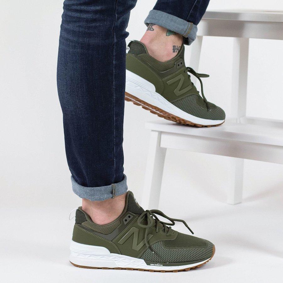 Khaki pánské tenisky Nike - velikost 45 EU