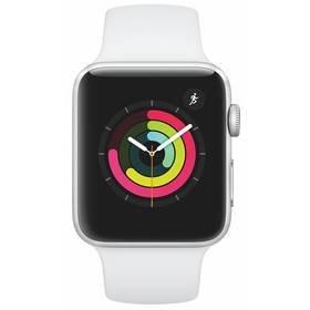 Bílé chytré hodinky Watch Series 3 GPS, Apple