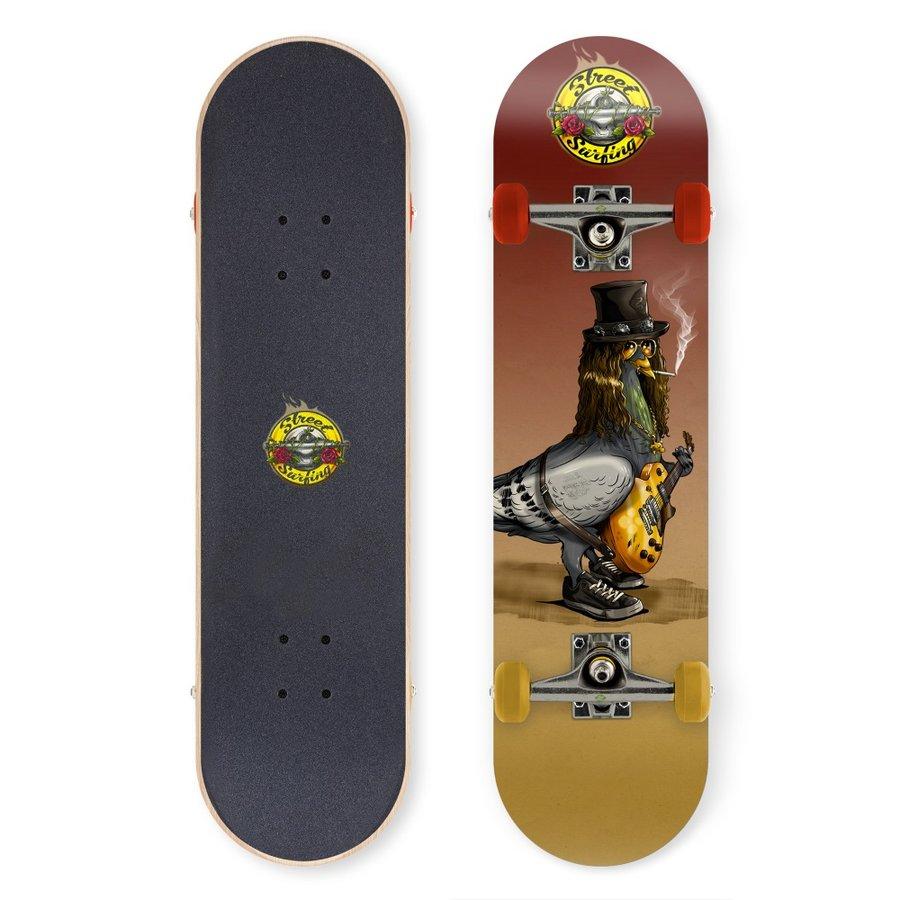 """Skateboard - Skateboard Street Surfing Street Skate 31"""" Street N Roses"""