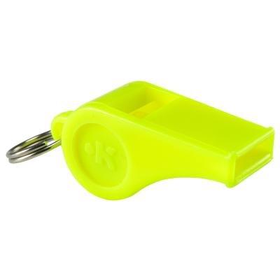 Píšťalka pro rozhodčího - Kipsta Plastová píšťalka žlutá