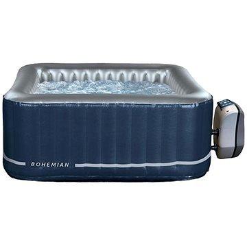 Modro-stříbrná nafukovací vířivka pro 2 osoby + 2 děti BOHEMIAN, NETSPA - objem 650 l