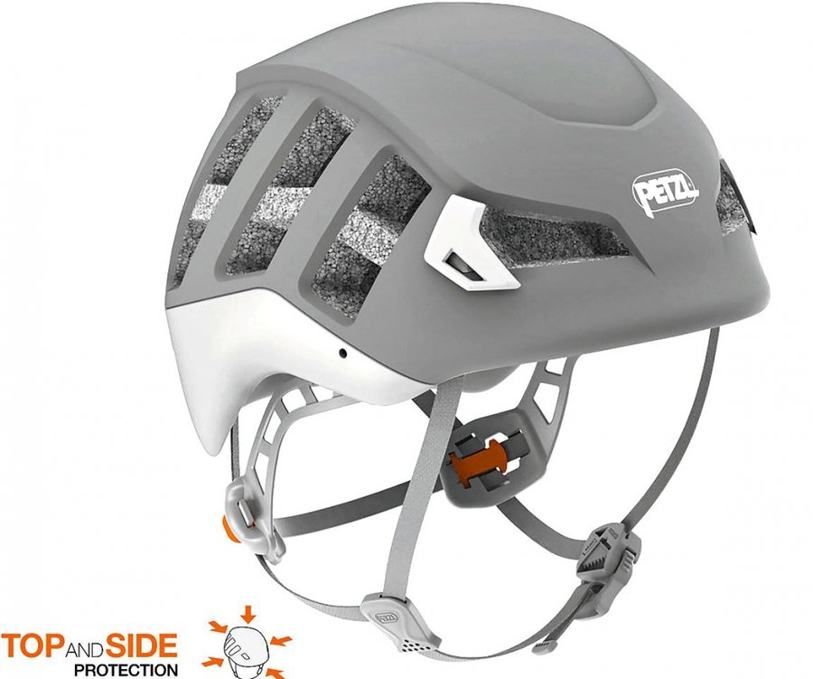 Šedá pánská horolezecká helma Meteor, Petzl