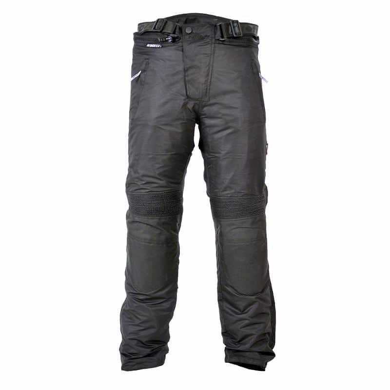 Černé pánské motorkářské kalhoty Textile, Roleff