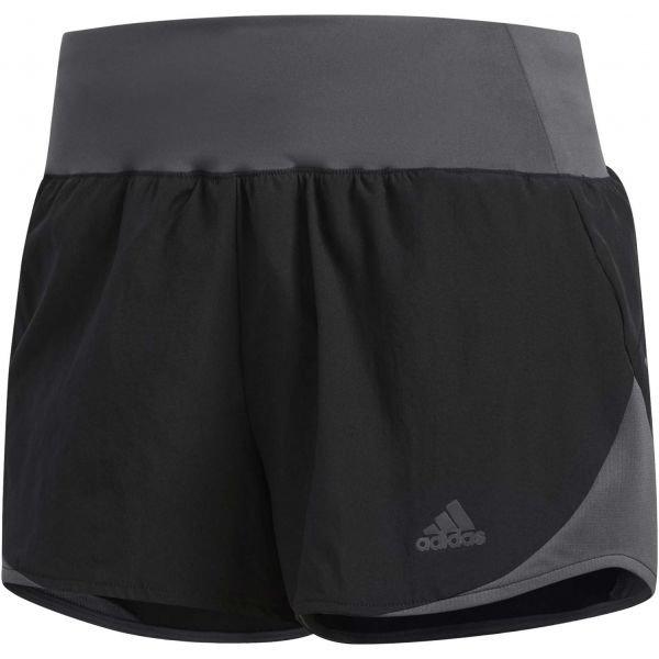Černé dámské běžecké kraťasy Adidas - velikost XL
