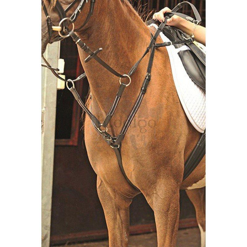 Hnědý poprsník HKM - pony