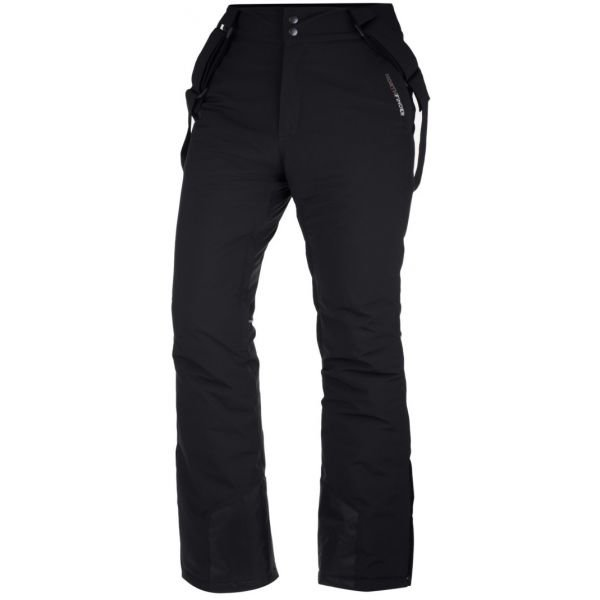 Černé softshellové dámské kalhoty NorthFinder