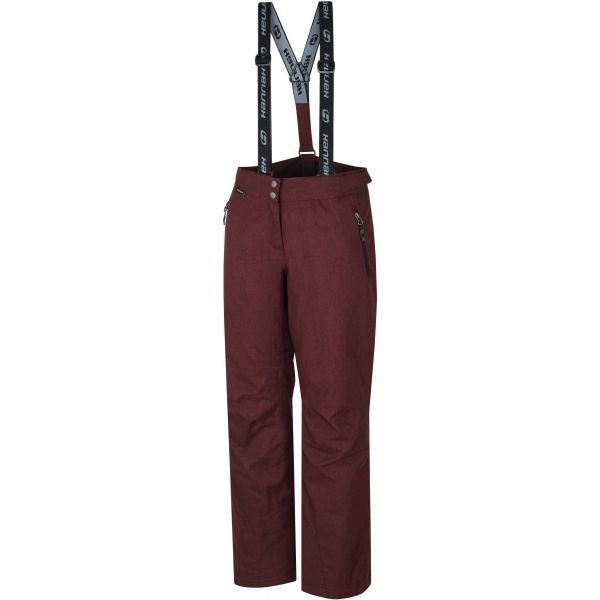 Červené dámské lyžařské kalhoty Hannah