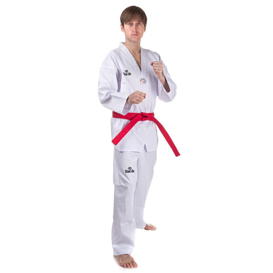 Bílé kimono na taekwondo Dae do