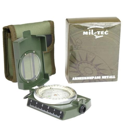 Kompas - Kompas ARMY kovový ZELENÝ