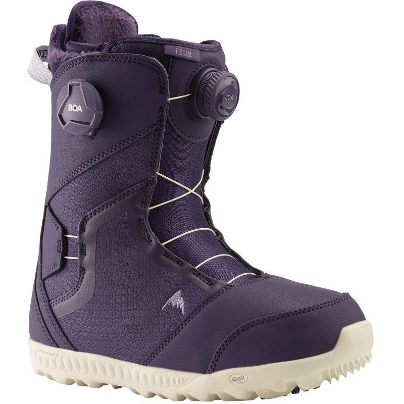 Fialové dámské boty na snowboard Burton